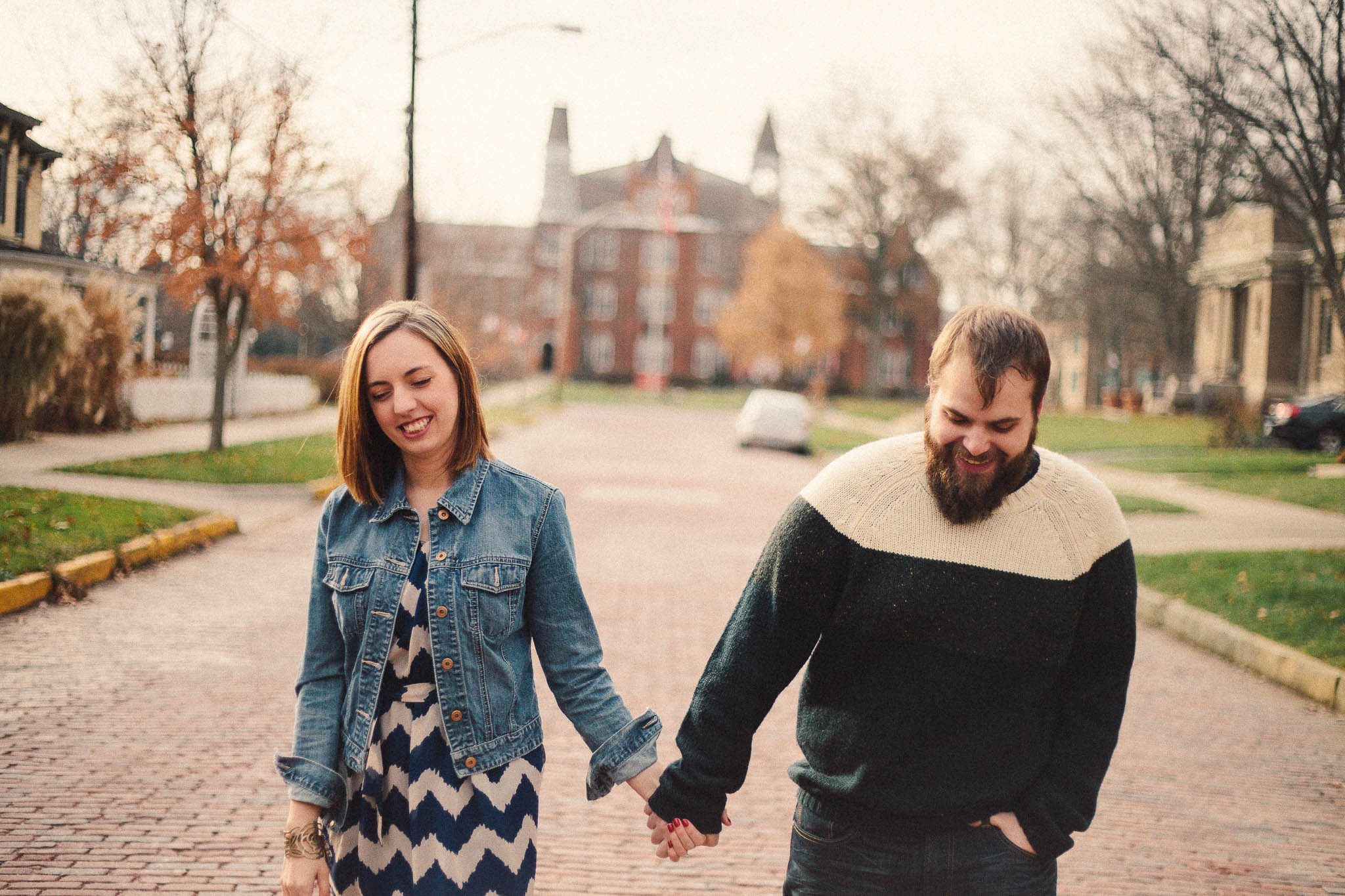 Sydney &#038; Daniel<br>Westerville Engagement Photography